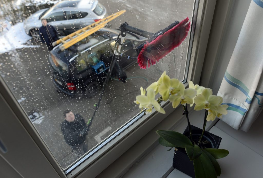 Vinduespolering af rengøringsfirma Roskilde