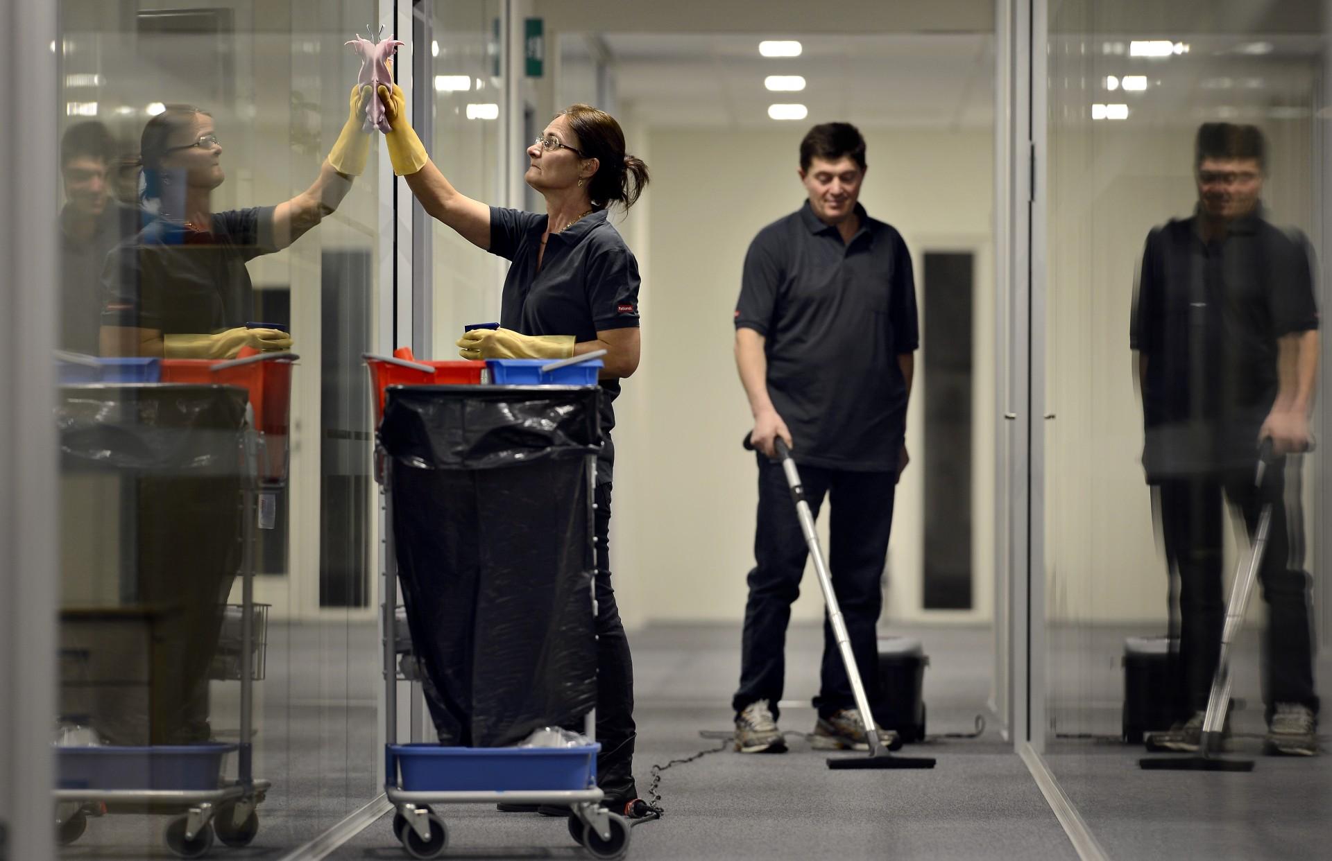 rengøring af rengøringsfirma Århus - foto