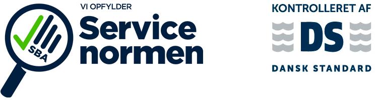 Vi overholder Servicenormen - Rationel Service A/S